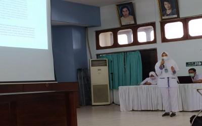 Mahasiswa Profesi Ners Kampus Ungu Presentasi Kasus Stase Jiwa