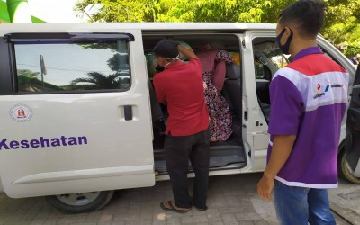 TIM Sahabat Pertamina, Bantu Warga Mitra Rujuk Rumah Sakit