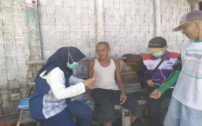 TIM Sahabat Pertamina, Terus Berikan Pelayanan Kesehatan Untuk Keluarga Binaan Desa Mitra