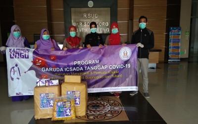 GARUDA ICSADA Tanggap Covid-19, Salurkan Bantuan Ke RSUD Dr. Sosodoro Djatikoesomo Bojonegoro
