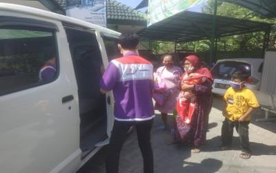 Mobil Pelayanan Kesehatan TIM Sahabat Pertamina Layani Masyarakat Desa Binaan