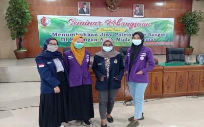 Mahasiswa Kampus Ungu Hadiri Seminar Kebangsaan Yang Di Adakan Oleh BangKesBangPol Bojonegoro