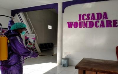 Selalu Antisipasi Penyebaran Covid-19 Kampus Ungu Lakukan Penyemprotan Desinfektan yang Ke 19 Di ICW