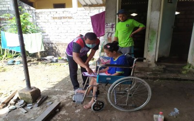 Sahabat Pertamina, Lakukan Kunjungan dan Pemeriksaan Di Desa Mitra