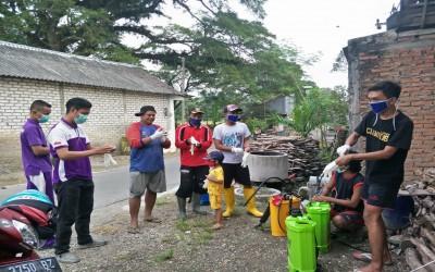 Mahasiswa Profesi Ners Kampus Ungu, Bersama Masyarakat Lawan Covid-19