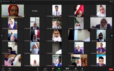 Prodi S1 Ilmu Keperawatan Kampus Ungu Lakukan Penyerahan Mahasiswa Praktek Klinik Di RSUD. Dr. R. Soprapto Cepu Secara Daring