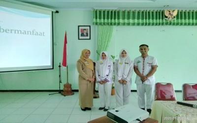 Hari ini 15 Mahasiswa Ners STIKes Insan Cendekia Husada  Praktik di Rumah Sakit Dr.Soeprapto Cepu
